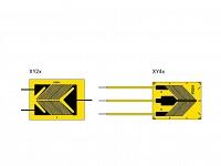 XY2 и XY4 тензорезисторы кручения-сдвига