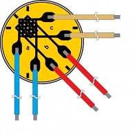 Миниатюрная розетка тензорезисторов Серия RF9