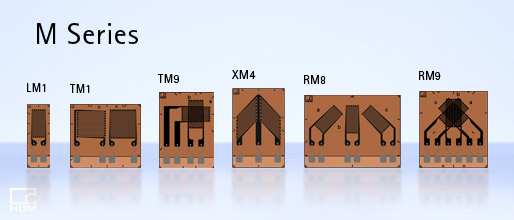 Серия M - электрические тензодатчики