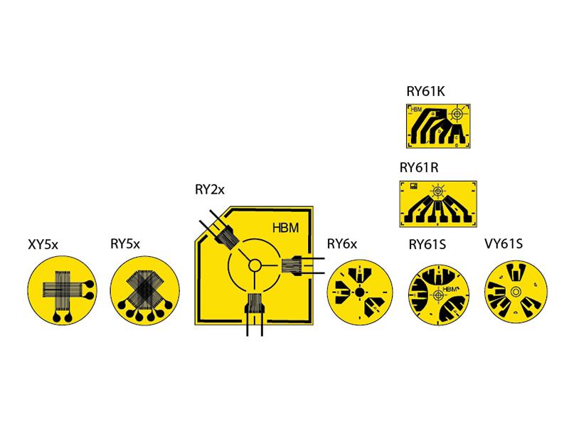 Тензорезисторы XY/RY